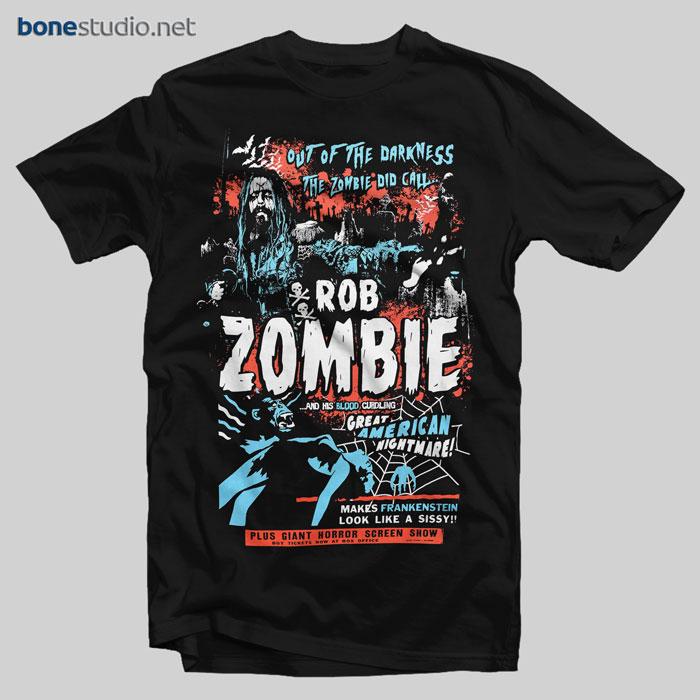 Rob Zombie T Shirt Zombie Calls