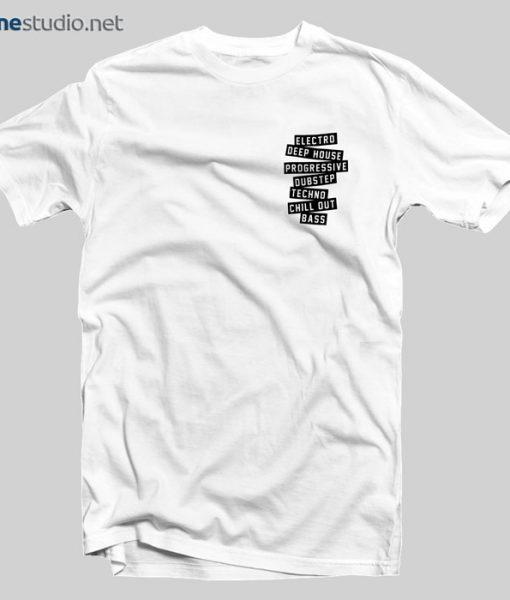 History Of EDM T Shirt