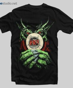 Slayer T Shirt World Sacrifice Tour 1988