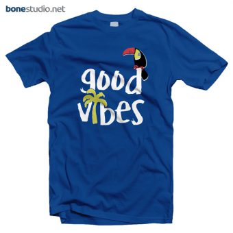 Good Vibes T Shirt blue