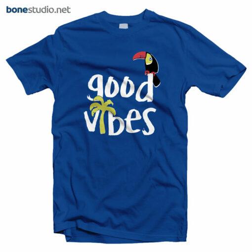 Good Vibes T Shirt blue