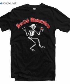 Social Distortion T Shirt Men's Skelly