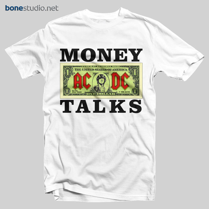 ACDC T Shirt Money