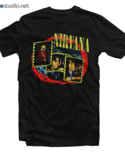 Nirvana T Shirt Live Concert Photo 1997