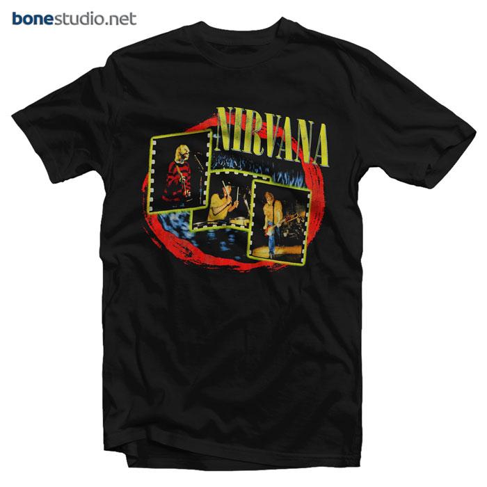 Nirvana T Shirt Live Concert Photo 1997