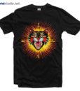 Love T Shirt Modern Future Angry Cat