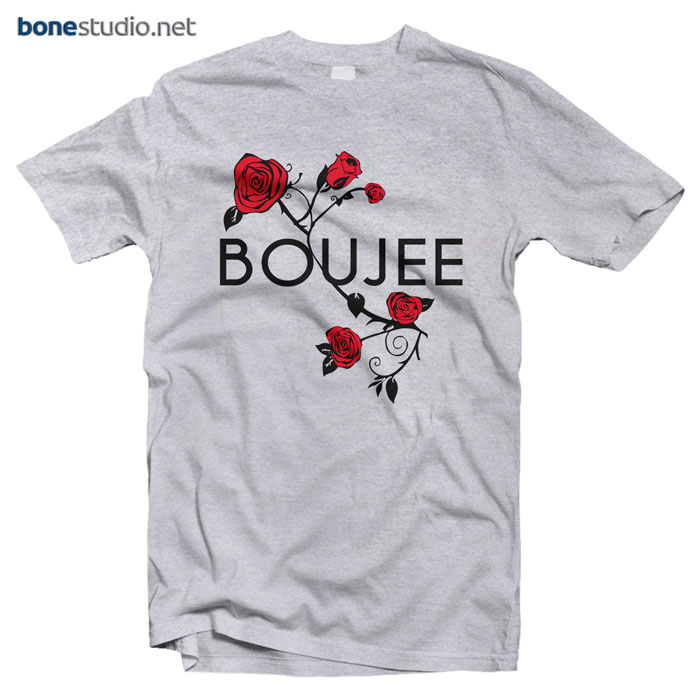 Rose T Shirt Boujee