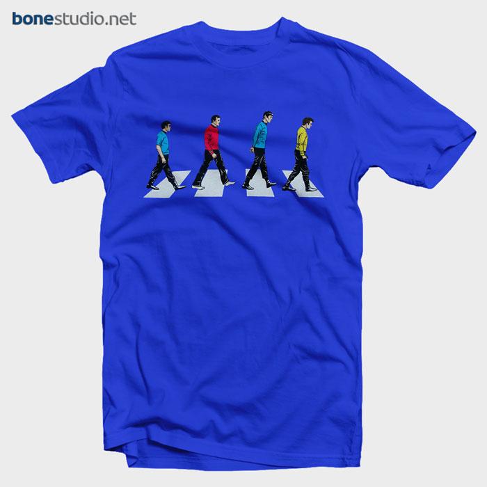 Star Trek T Shirt Abbey Road