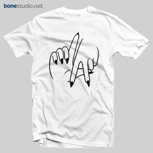 LA T Shirt Los Angeles Hand