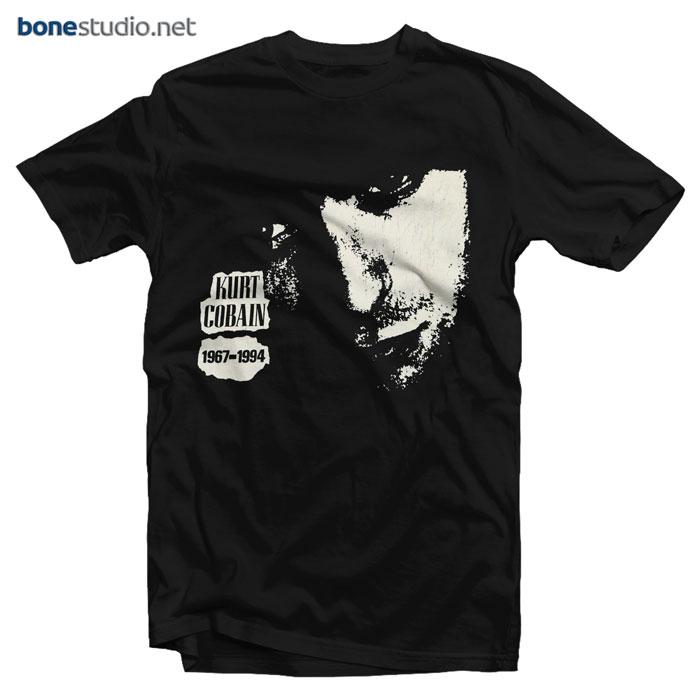 Nirvana T Shirt Kurt Cobain Tribute 1994