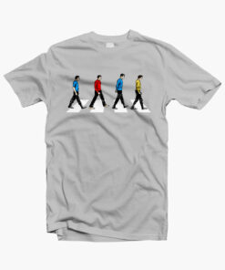 Star Trek T Shirt Abbey Road