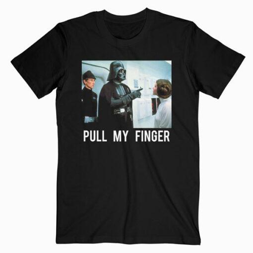 Star Wars T Shirt Darth Vader Pull my Finger