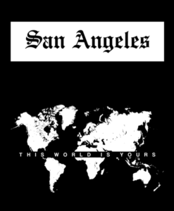 San Angeles T Shirt This World Is Yours