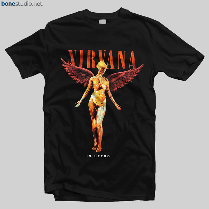 Nirvana T Shirt In Utero