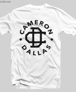 Cameron Dallas Merch T Shirt Logo