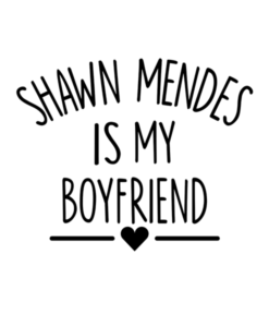 Shawn Mendes Merch T Shirt Is My Boyfriend