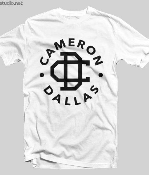 Cameron Dallas Merch T Shirt Logo