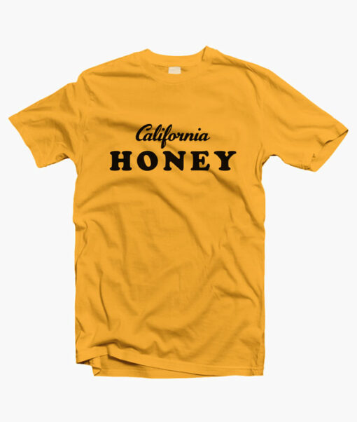 California T Shirt Honey