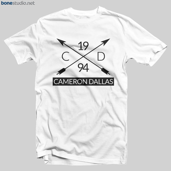 Cameron Dallas Merch T Shirt Graphic