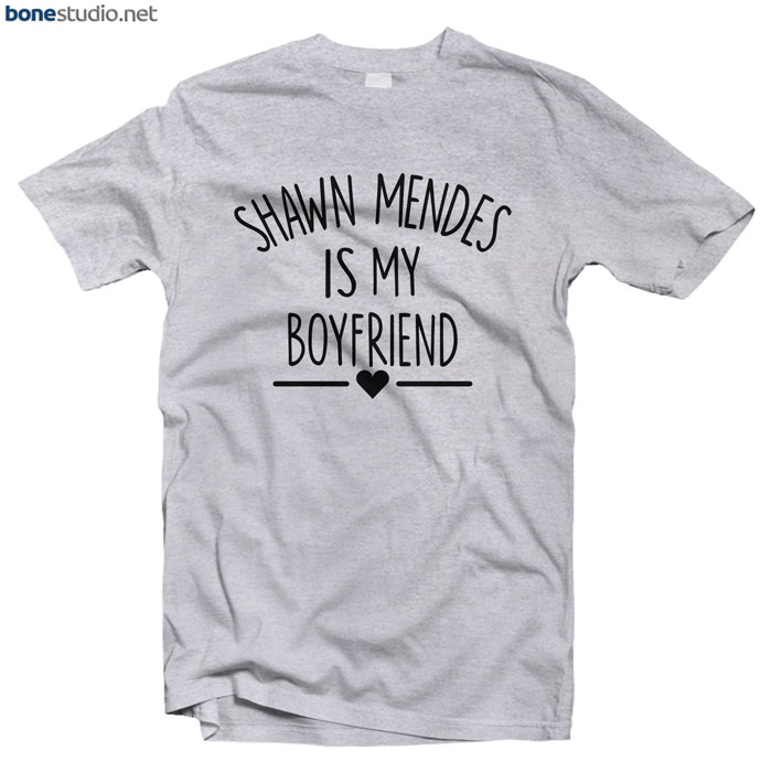 Shawn Mendes Merch T Shirt Is My Boyfriend