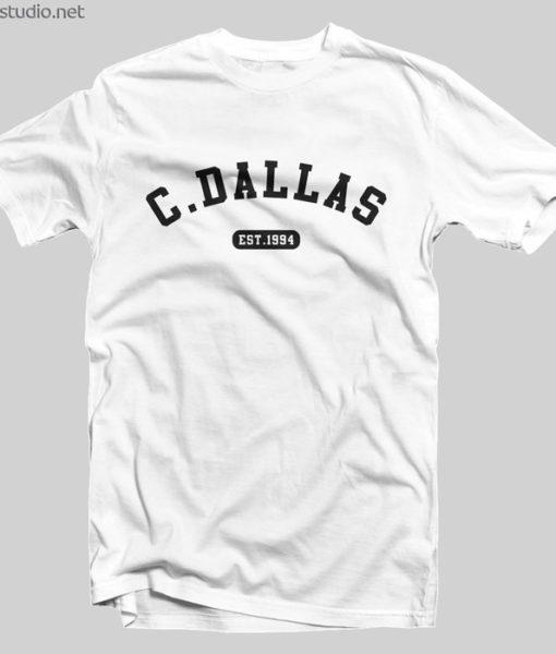 Cameron Dallas Merch T Shirt Est 1994