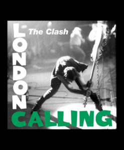 The Clash T Shirt London Calling