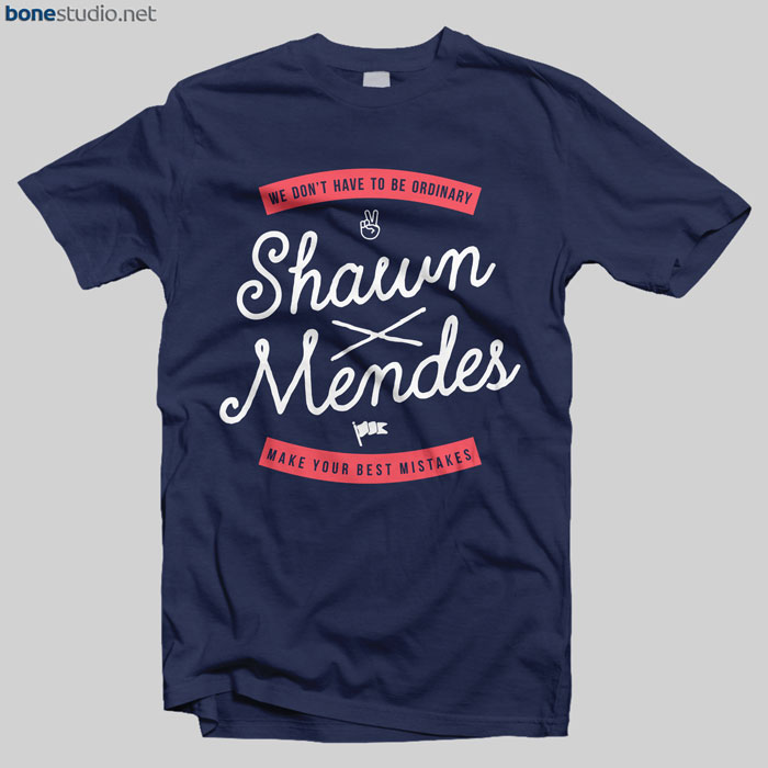 Shawn Mendes Merch T Shirt Best Mistake