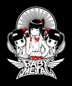 Baby Metal T Shirt Chibi Band Tees
