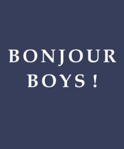 Bonjour T Shirt Boys