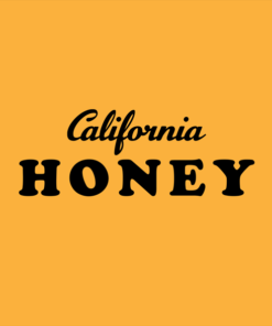 California T Shirt Honey