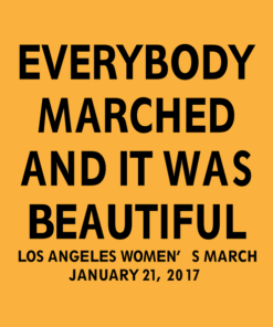 Everybody Marched T Shirt