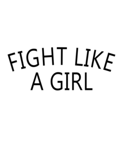 Fight Like A Girl T Shirt Chloe Bennet Quote Tees For Men Women