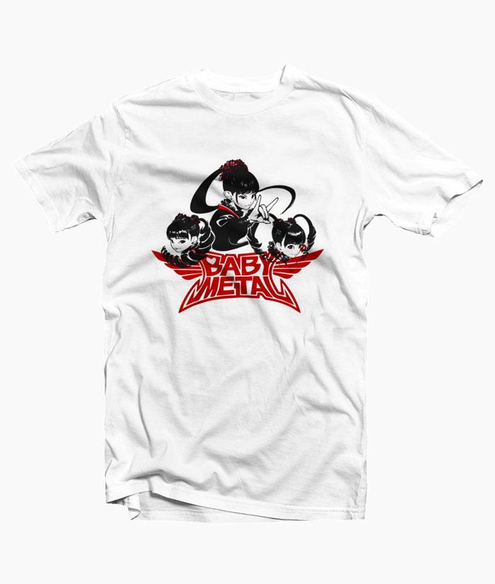 Babymetal Karate T Shirt Anime Band Tees
