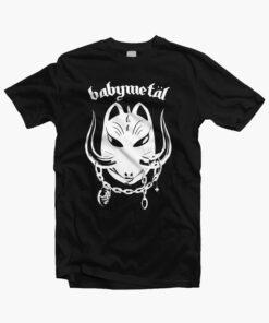 Babymetal T Shirt Babymetal Motohead Band Tees