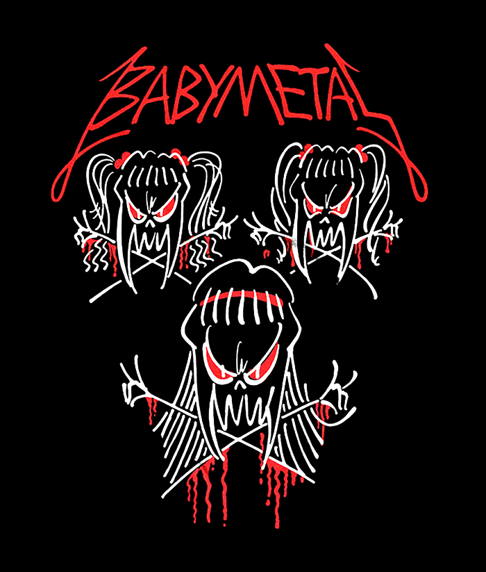 Babymetal Tour Shirt Band Tees