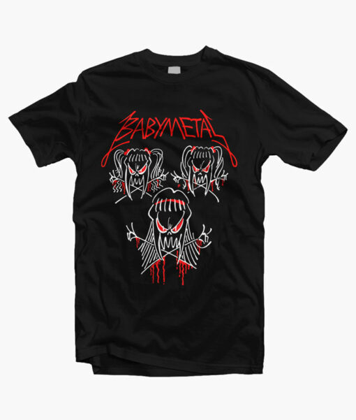 Babymetal Tour Shirt Band Tees
