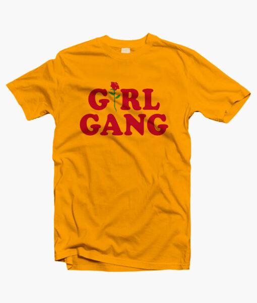 Girl Gang Shirt Feminist Graphic Tees