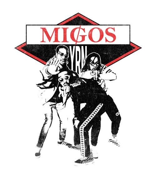 Migos YRN Shirt