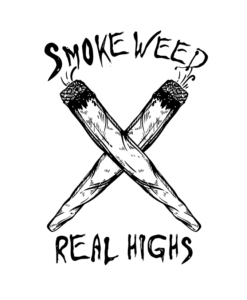 Smoke Weed Shirt Real Highs