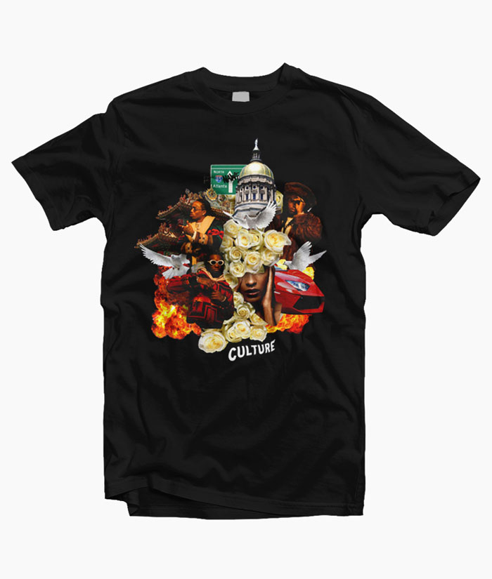 T shirt migos culture graphic tees for men women unisex for T shirt by migos