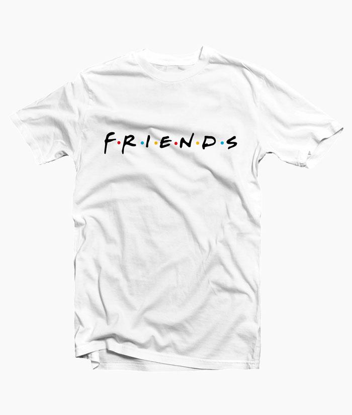 Friends T Shirt Logo Graphic Tees