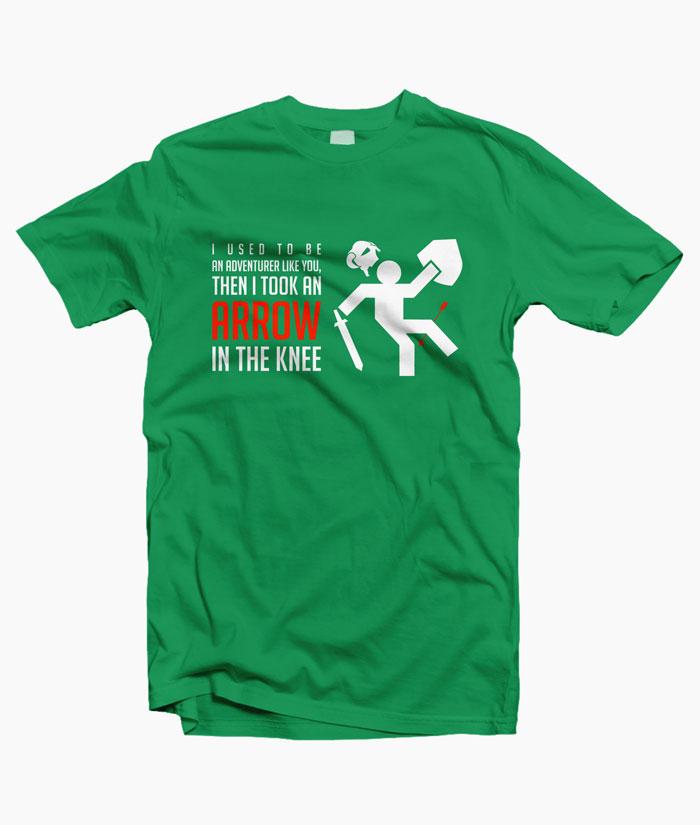 Arrow To The Knee Shirt
