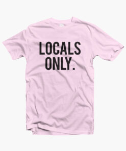 Locals Only Shirt pink