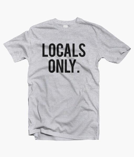 Locals Only Shirt sport grey