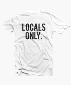 Locals Only Shirt white