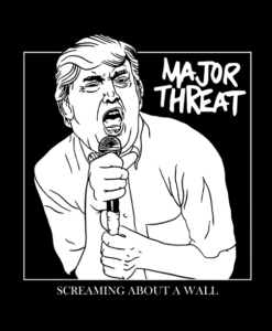 Major Threat Trump Shirt