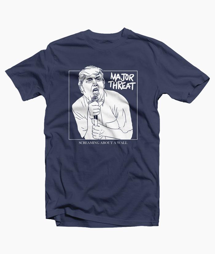 Major Threat Trump Shirt