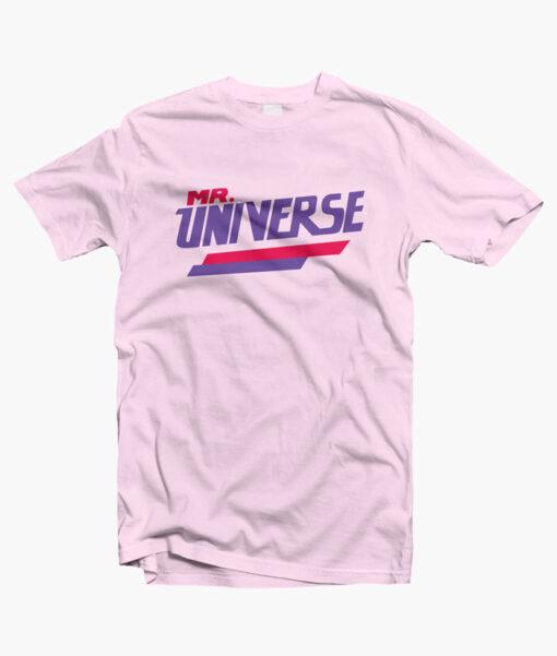 Mr Universe T Shirt pink