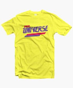 Mr Universe T Shirt yellow