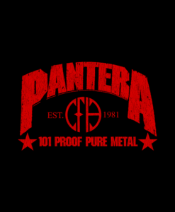 Pantera 101 Proof Shirt